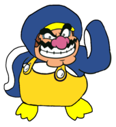 2D Penguin Wario