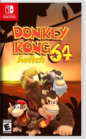 Donkey Kong 64 Switch