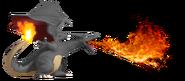 0.3.Shiny Charizard Using Flamethrower