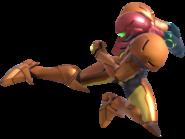 1.5.Samus performing a kick