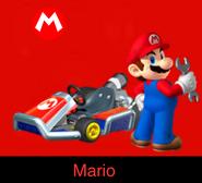 Mario in Mario Kart Ultime