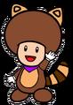 2D Tanooki Purple Toad