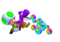 Green Toad and Yoshi