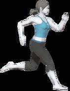 0.2.Female Wii Fit Trainer Running