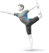 Male Wii Fit Trainer SSB4