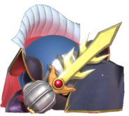 2.12.Meta Knight hiding behind his cape 2