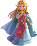 ALBW Princess Zelda Artwork