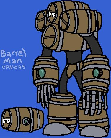 Barrel Man