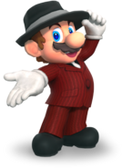 MKT Mario Musician Outfit render