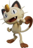 Meowth - Pokemon Mewtwo Strikes Back Evolution