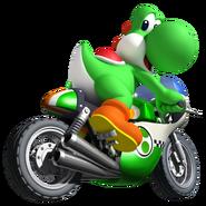 Yoshi Bike MKW