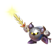 2.7.Meta Knight raising his Sword