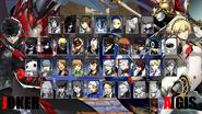 Persona 5 Arena Character Select