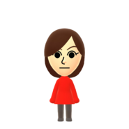 Female Default Mii Nintendo Switch