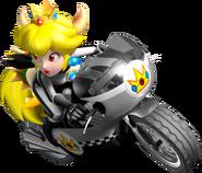 Bowsette On Mach Bike - Mario Kart Insanity