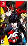 Persona 5 Arena Switch Cover