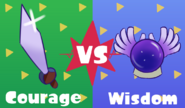 Courage VS Wisdom