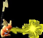1.3.Shiny Raichu using Thundershock