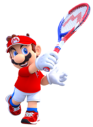 Mario - Mario Tennis Aces Artwork