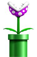 Purple Piranha Plant