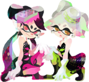 Squid Sisters Record