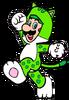 2D Cat Luigi