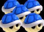 Quintuple Blue Shell - Mario Kart Wii