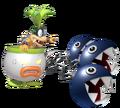 2.4.Iggy Koopa with 3 Chain Chomps