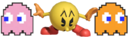 0.7.Pac-Man summoning Pinky and Clyde