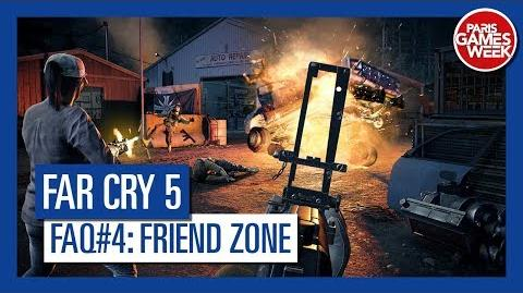 Far Cry 5 - Co-op - Can I and my friend be in to different parts of the map?