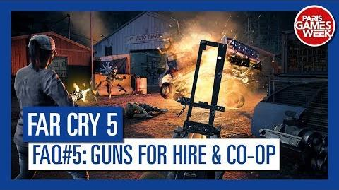 Far Cry 5 - Co-op - Is it possible hire Gun for Hire during co-op quests?