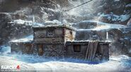 Far Cry 4 DLC Valley of the Yetis concept art by XuZhang (45)