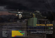 Fc5 weapon m249 scopes tactical
