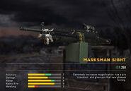 Fc5 weapon m249 scopes marksman