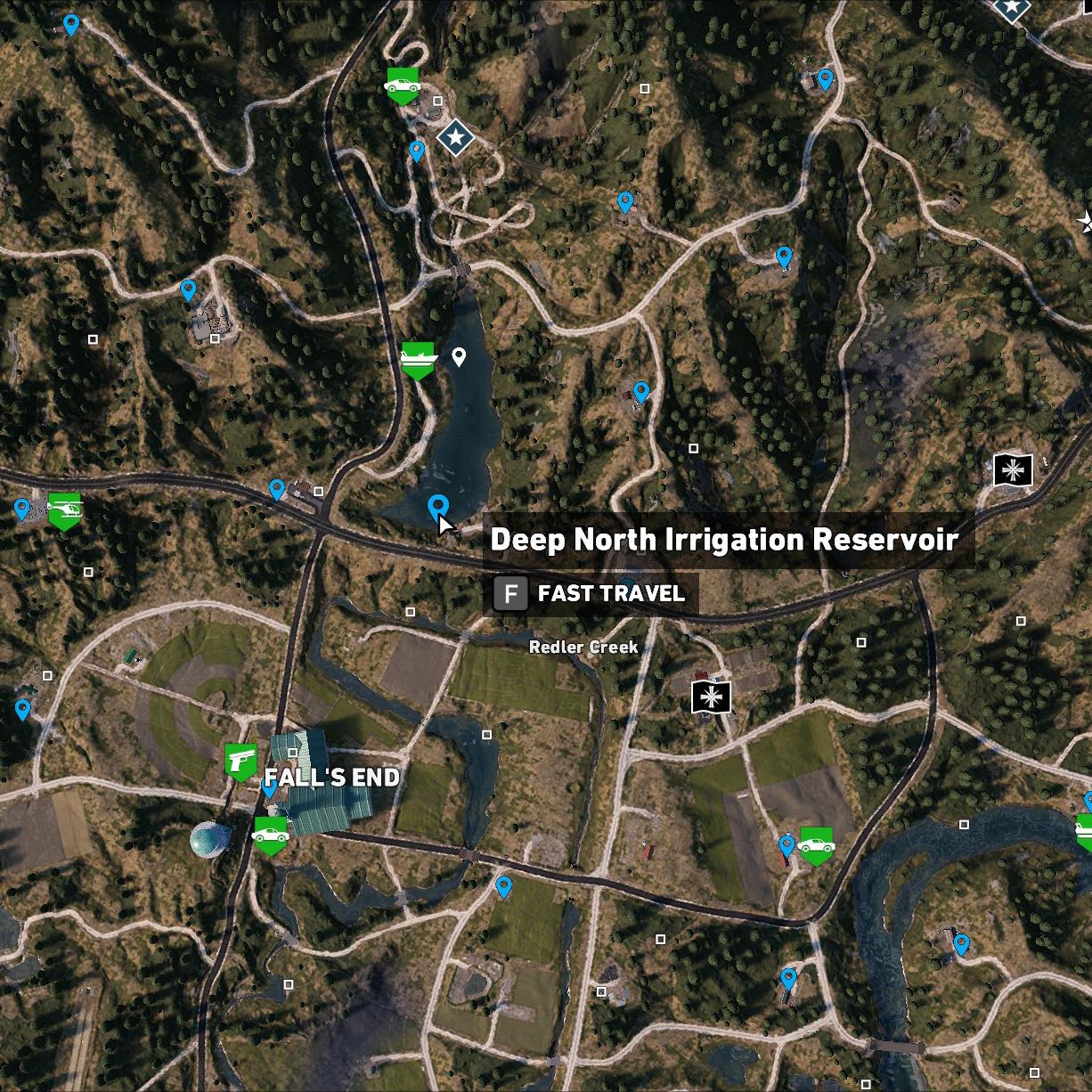 Deep North Irrigation Reservoir