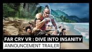FAR CRY VR Dive Into Insanity - Announcement trailer Ubisoft Forward 2