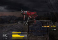Fc5 weapon mp5k skin red