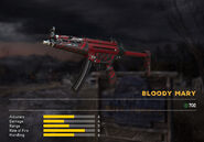 Fc5 weapon mp5 skin red