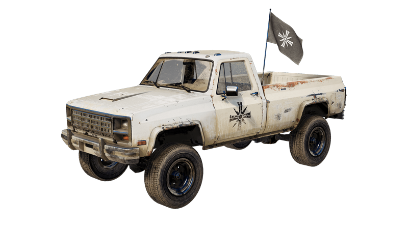 Cult Pickup (Far Cry 5)
