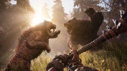 Sabertooth VS Cave Bear