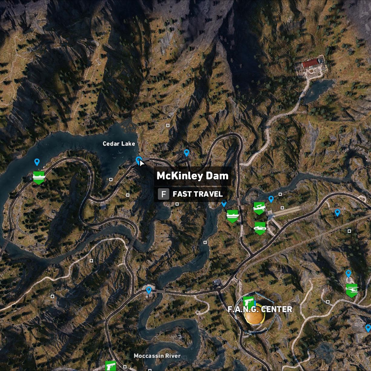 McKinley Dam