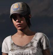 Fc5 female headwear truckercapblue