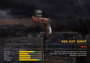 Fc5 weapon m9redflag optic reddot
