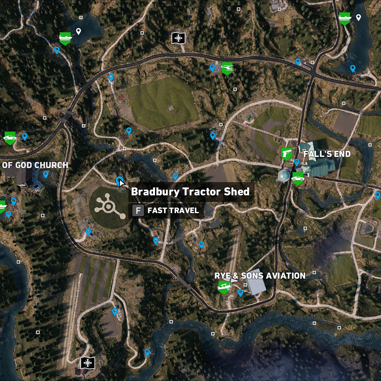 Bradbury Tractor Shed
