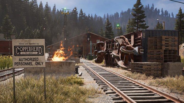 Copperhead Rail Yard