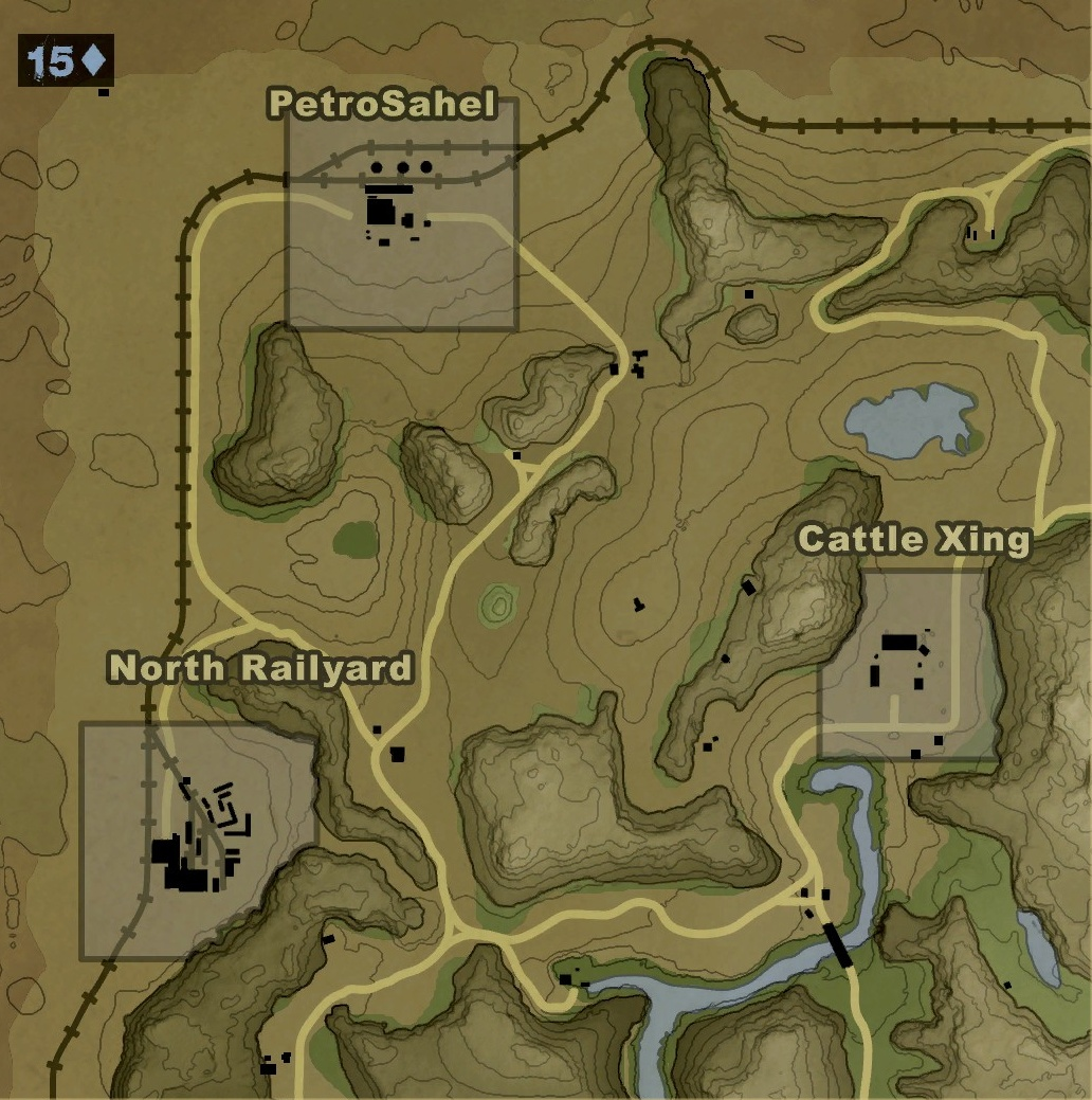 Far Cry 2 map