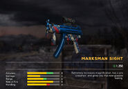 Fc5 weapon mp5kamerican scopes marksman
