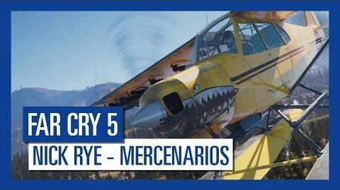 Far Cry 5 Nick Rye – Mercenarios Personaje destacado
