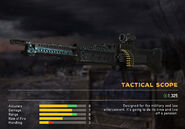 Fc5 weapon m60v scopes tactical