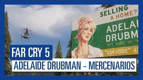 Far Cry 5 Adelaide Drubman – Mercenarios Personaje destacado